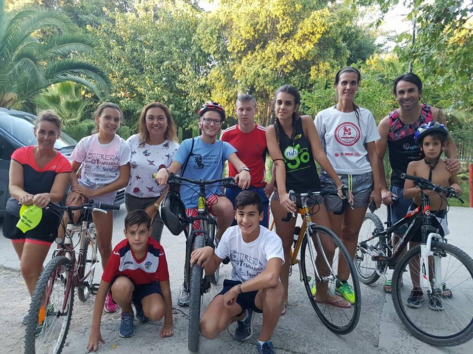 2 años de #EscuelasTrijuansa en Canena: la magia de estar unidos por el Triatlón